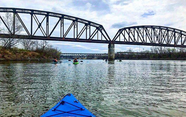 Kayak Kaw Point - @visitkansascityks