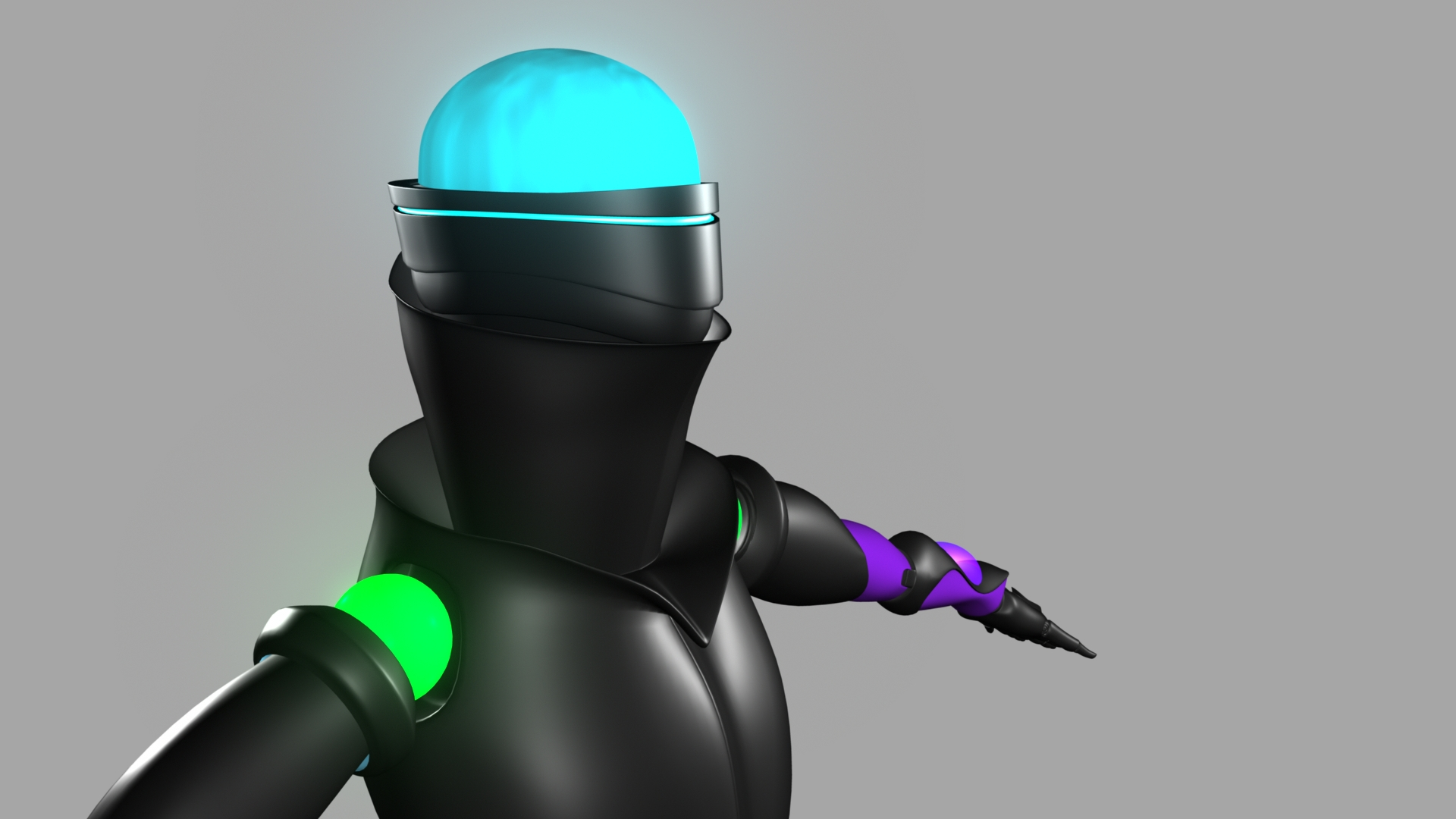 Android Render (Head and Shoulders)