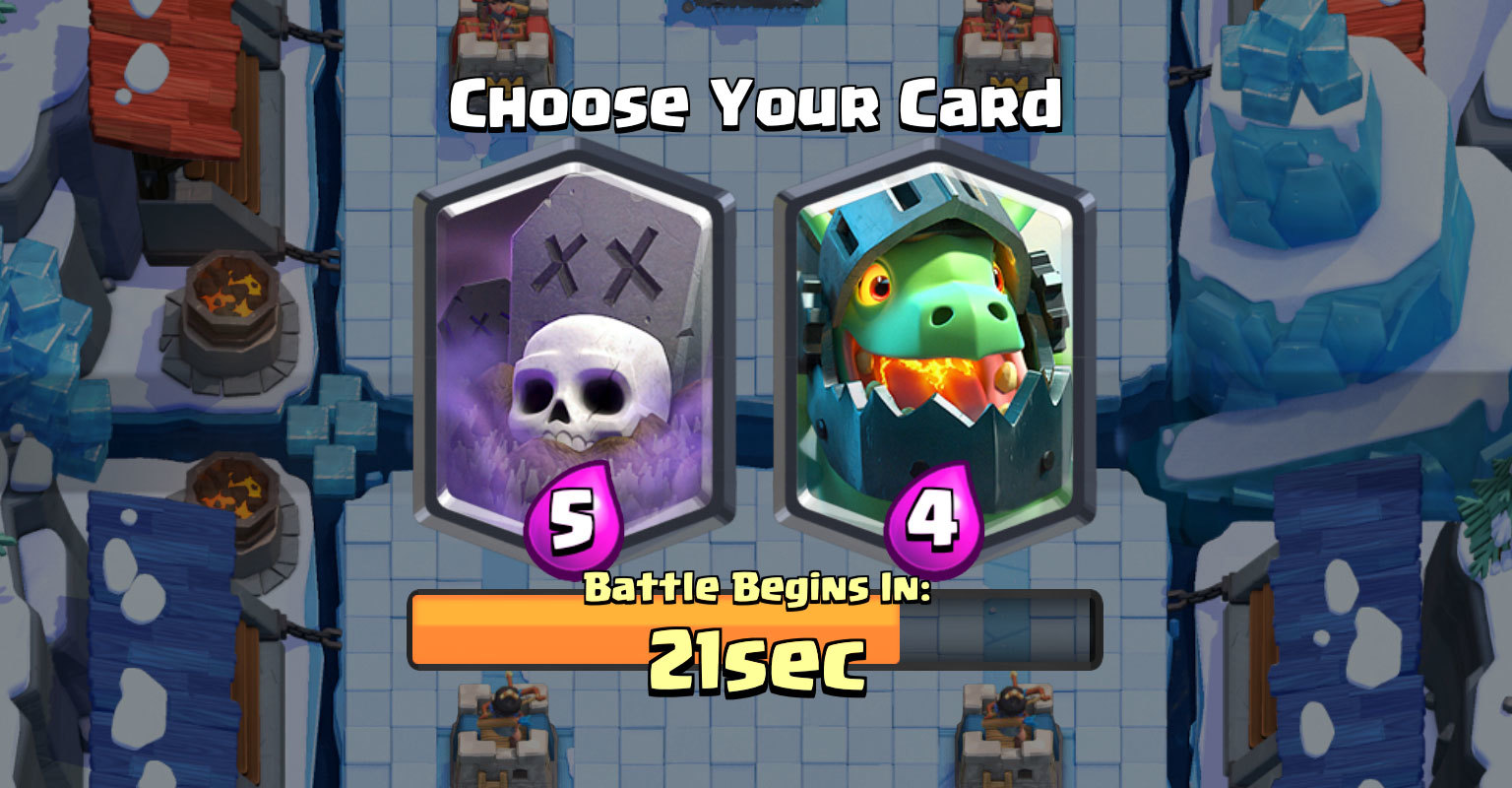 Draft Mode in Clash Royale