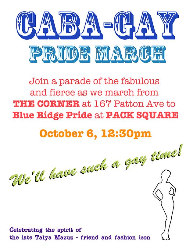 Pride March: Adam Cable