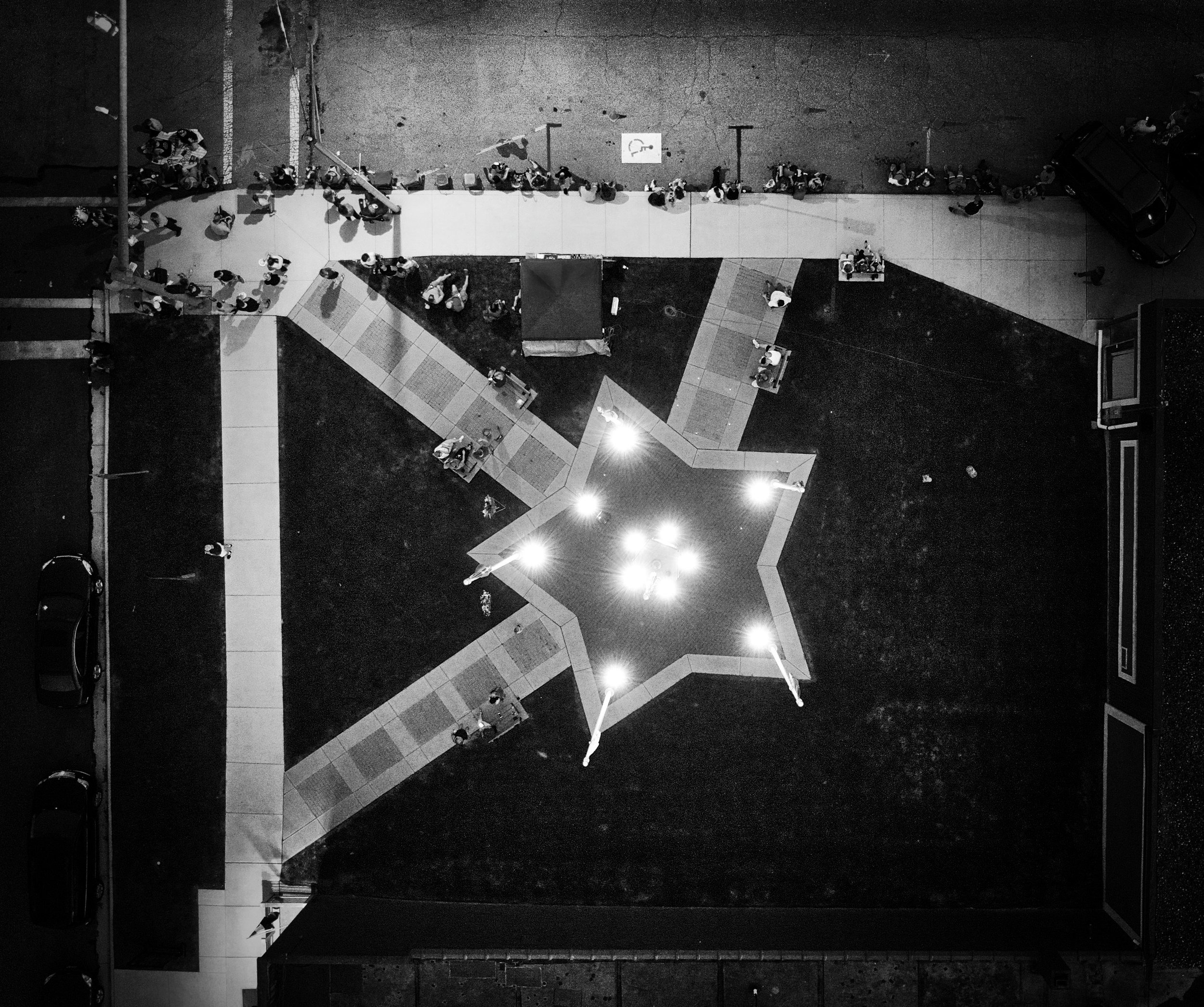 Jackson is a beautiful city from which to take aerial photos, a perfect example of the treasure waiting to be found in our own backyards. I especially love this shot of the Jackson War Memorial, it feels extra special when viewed from the eye of the heavens.