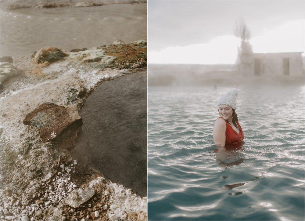 Iceland Secret Lagoon Hot Spring   Boston and Iceland Wedding Photographer   madelinerosephoto.com