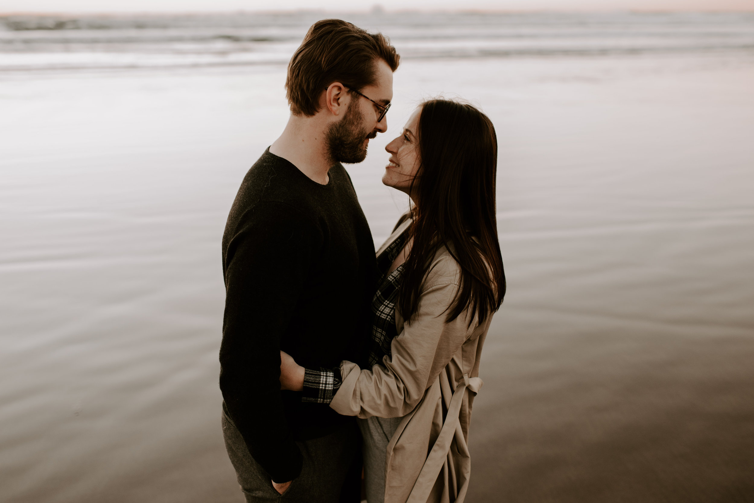 Katie and Nic's Cannon Beach Anniversary Session | Oregon Wedding Photographer | Madeline Rose Photography Co.