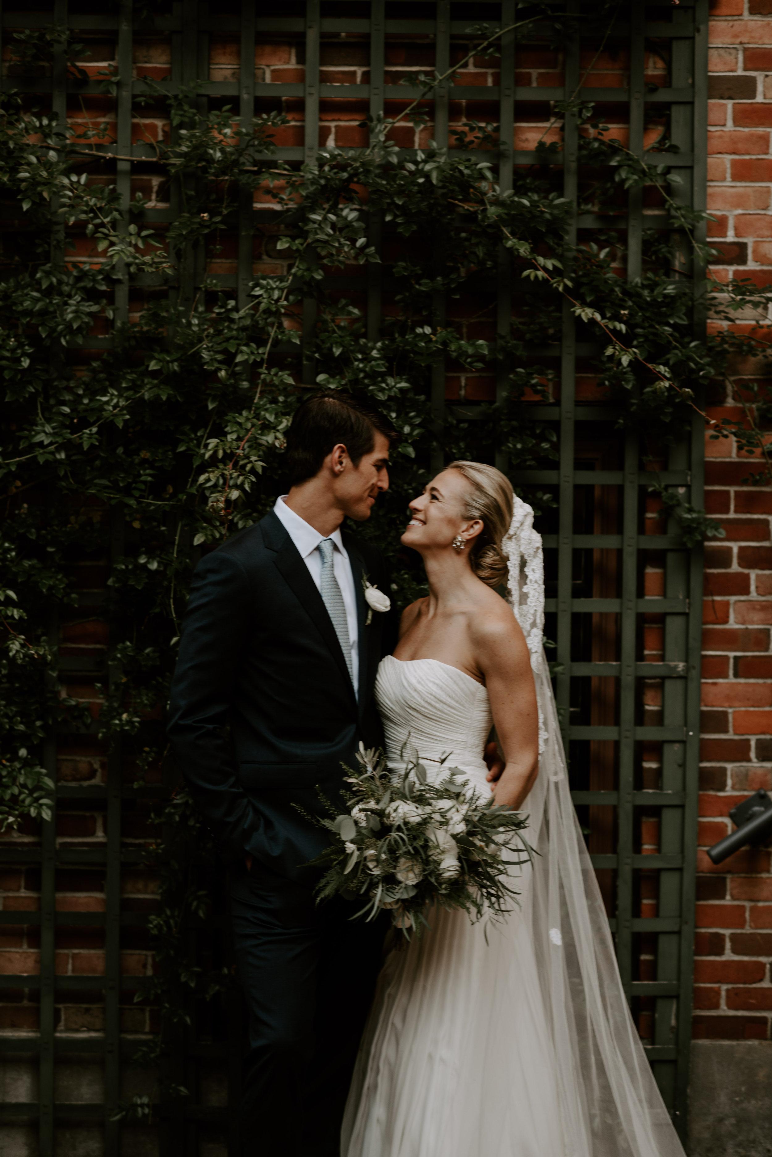 Moody Intimate Library Wedding   Boston Wedding Photographer   Madeline Rose Photography Co.
