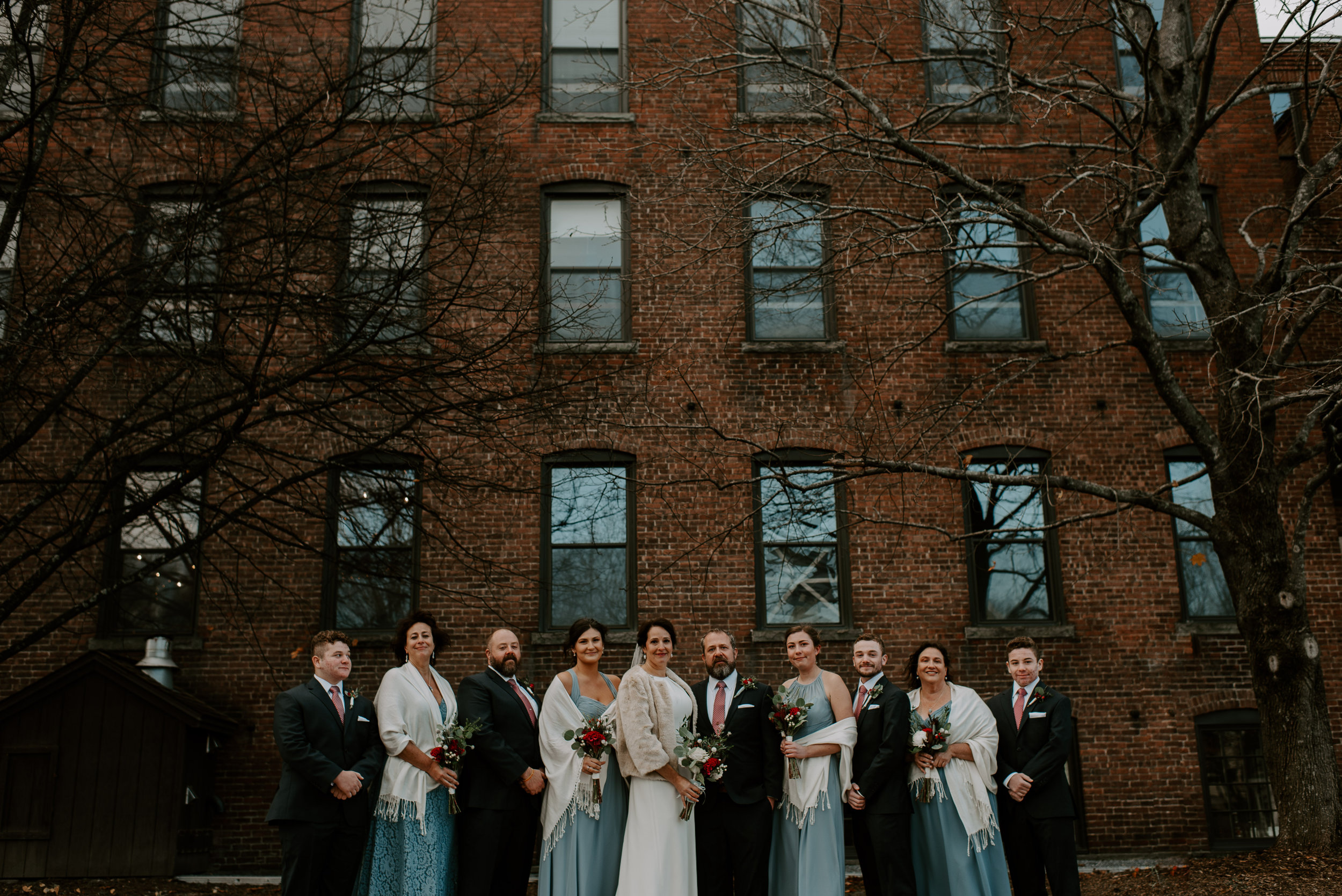 Suzanne and Scott's Industrial Stationary Factory Wedding   Berkshires Wedding Photographer   Madeline Rose Photography Co.