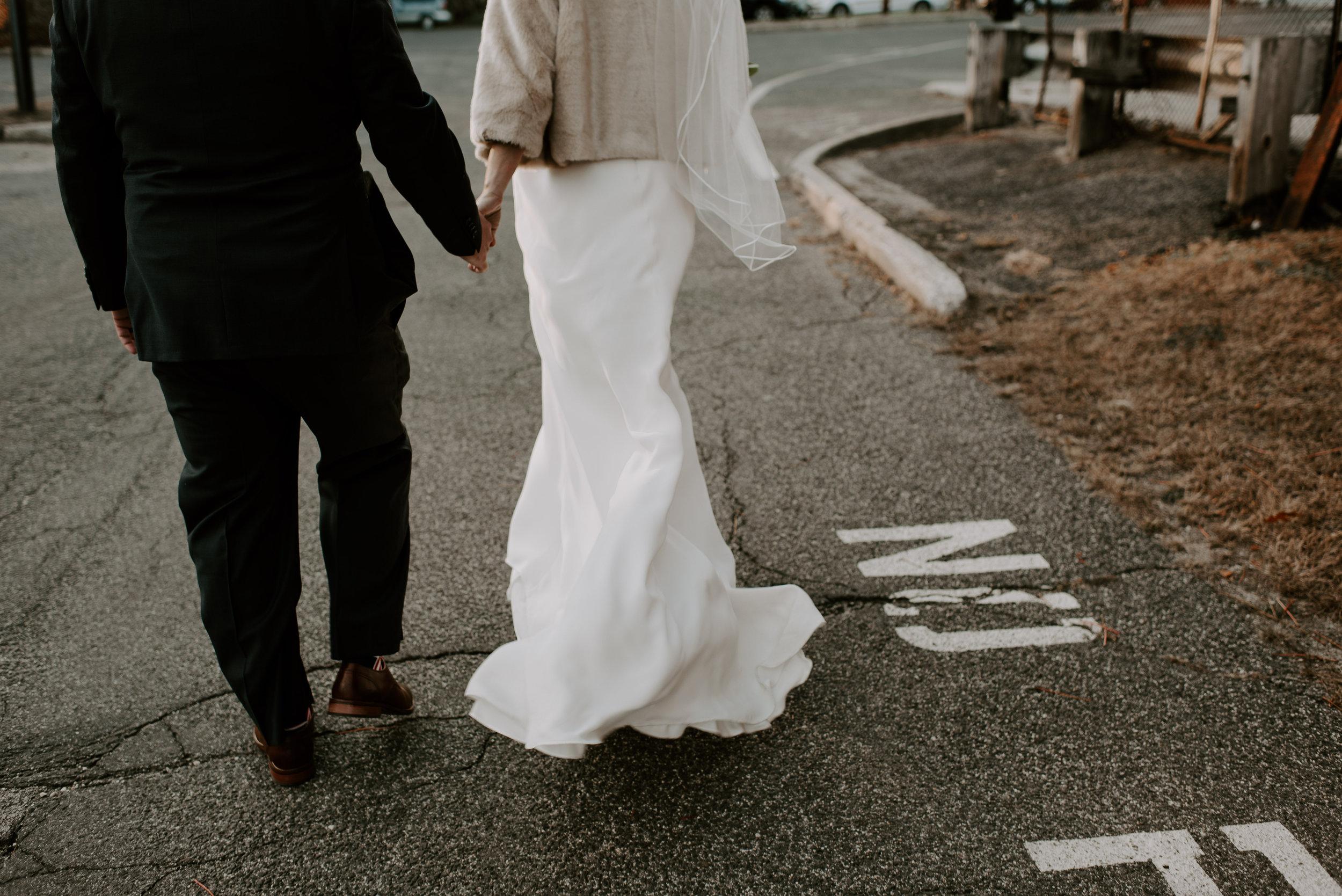 Moody Winter Industrial Berkshires Wedding   Boston Wedding Photographer   Madeline Rose Photography Co.