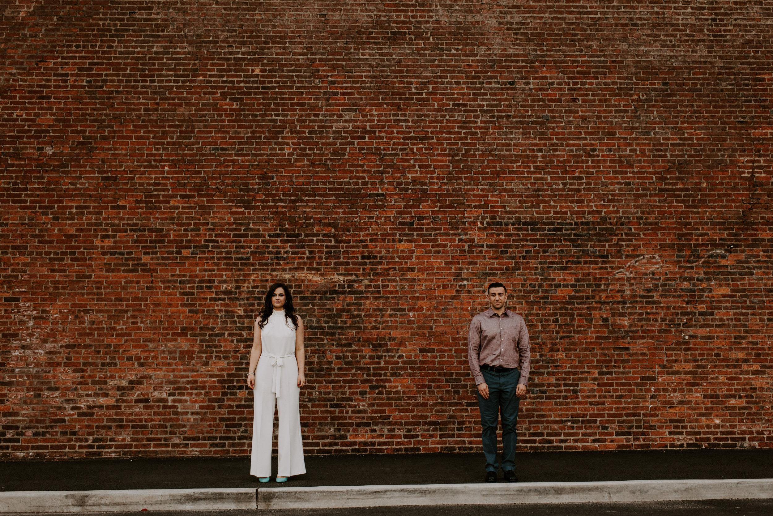 Moody Fall Brooklyn Engagement Session | Brooklyn Wedding Photographer | Madeline Rose Photography Co.