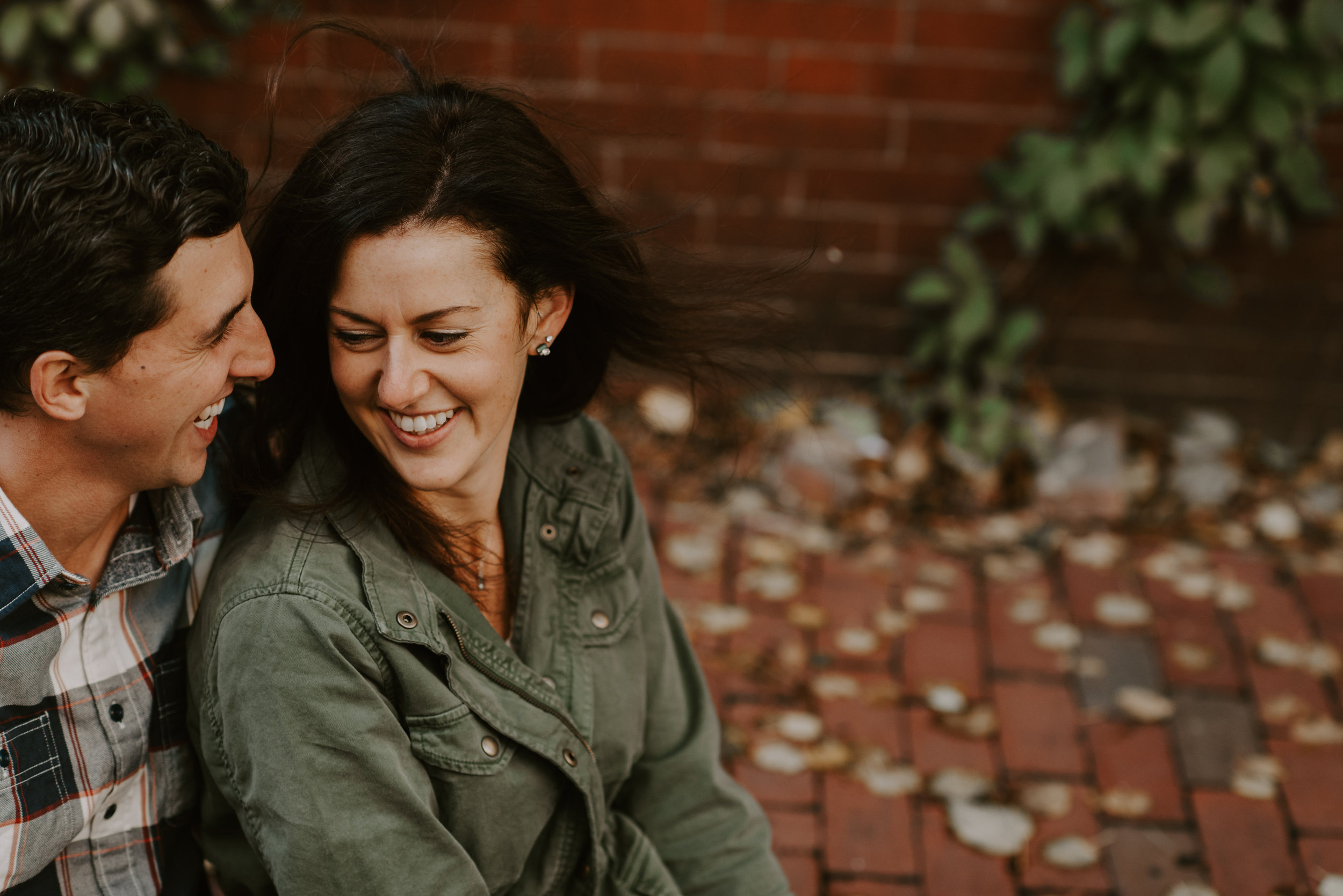 Beacon Hill, Boston Fall Engagement Session | Boston Wedding Photography