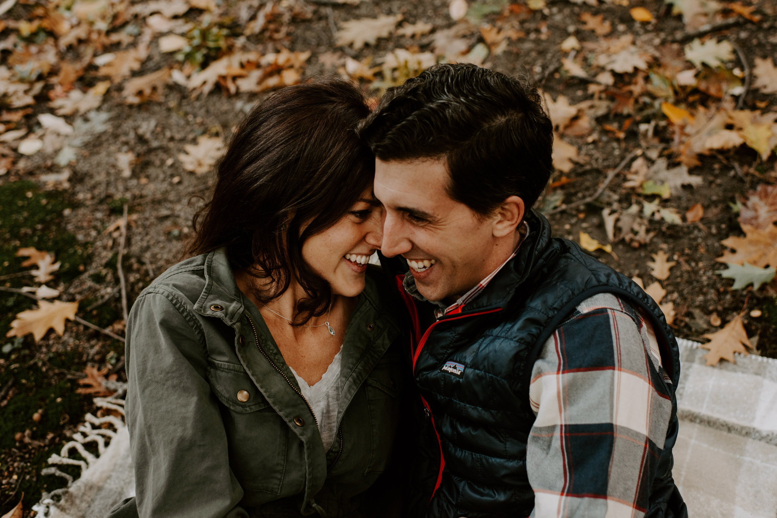 New England Fall Foliage Engagement Session | Boston Wedding Photography