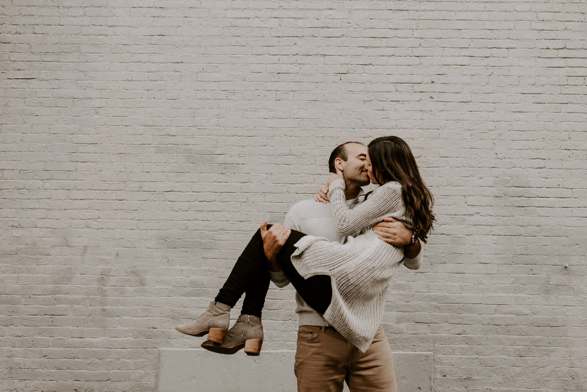 Dramatic and Moody Beacon Hill Engagement Session | Boston Wedding Photographer | Madeline Rose Photography Co.