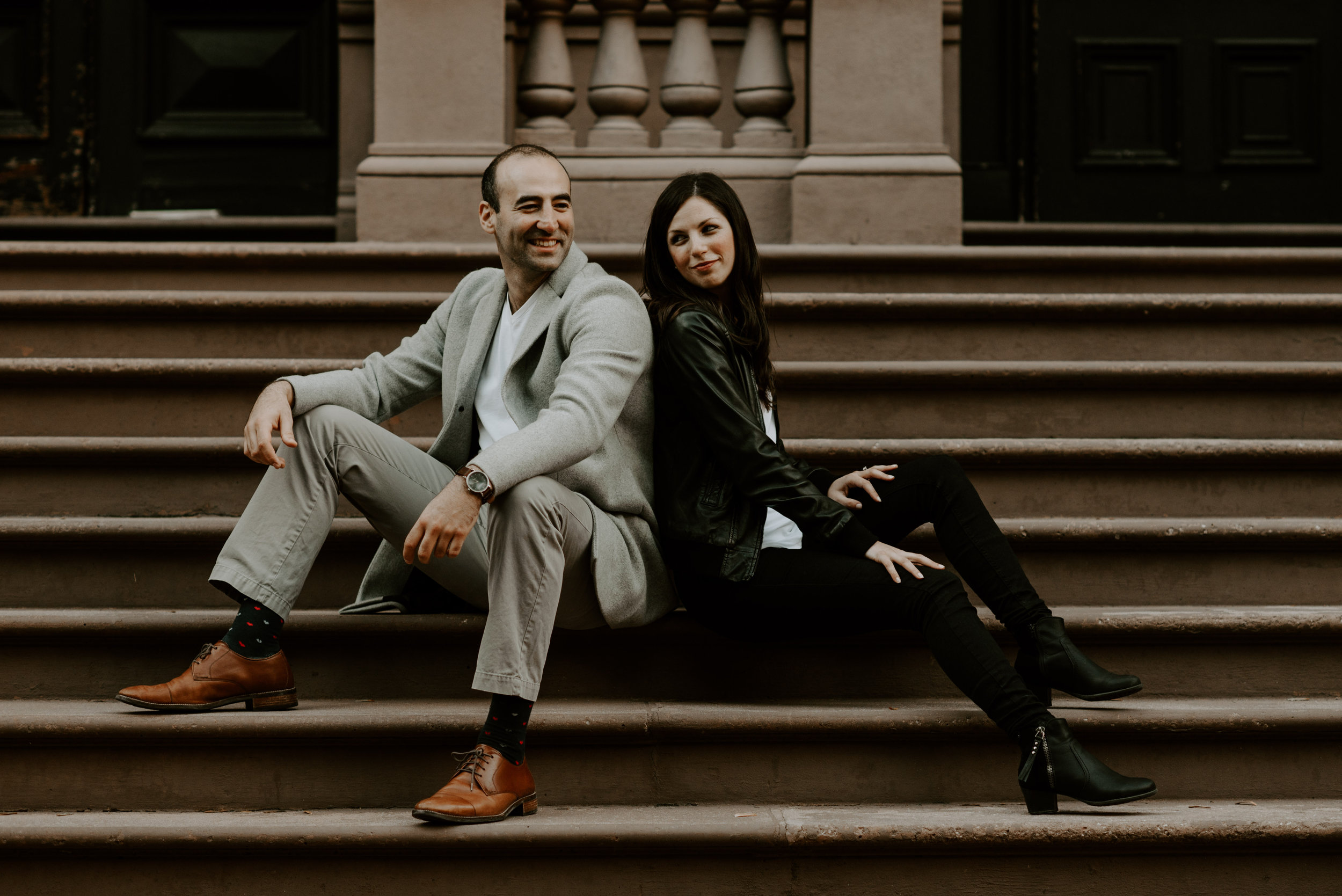 Dramatic and Moody Public Gardens, Boston Engagement Session | Boston Wedding Photographer | Madeline Rose Photography Co.