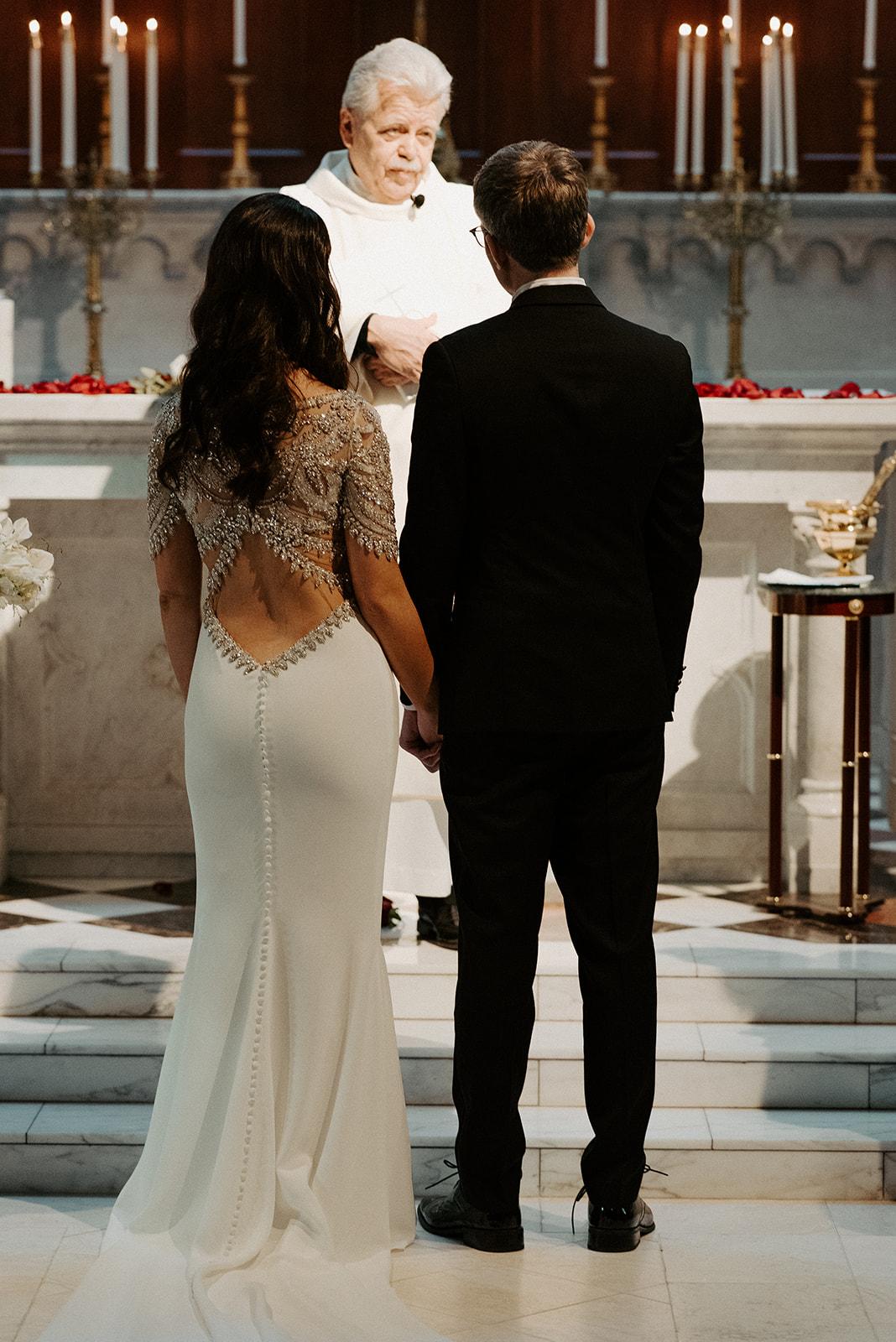 1920's Great Gatsby Inspired Wedding | Our Lady of Good Voyage Wedding | Downtown Boston Wedding | Boston Wedding Photographer