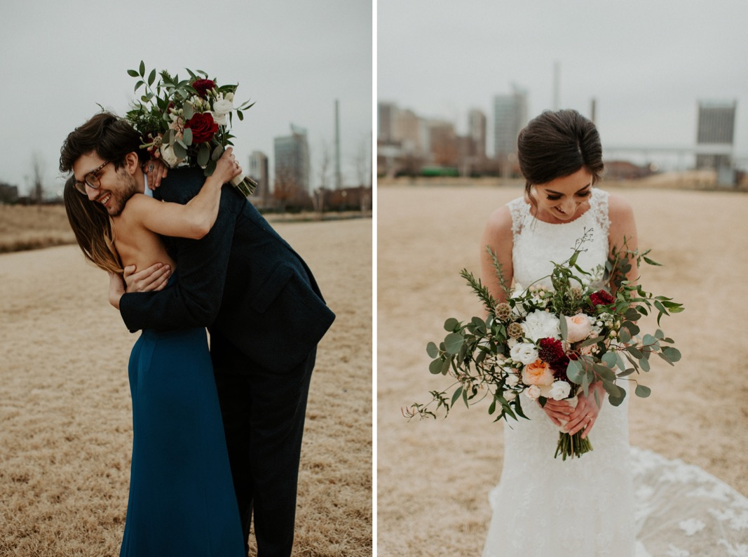 Industrial Downtown Birmingham, Alabamam Wedding | Alabama Wedding Photographer
