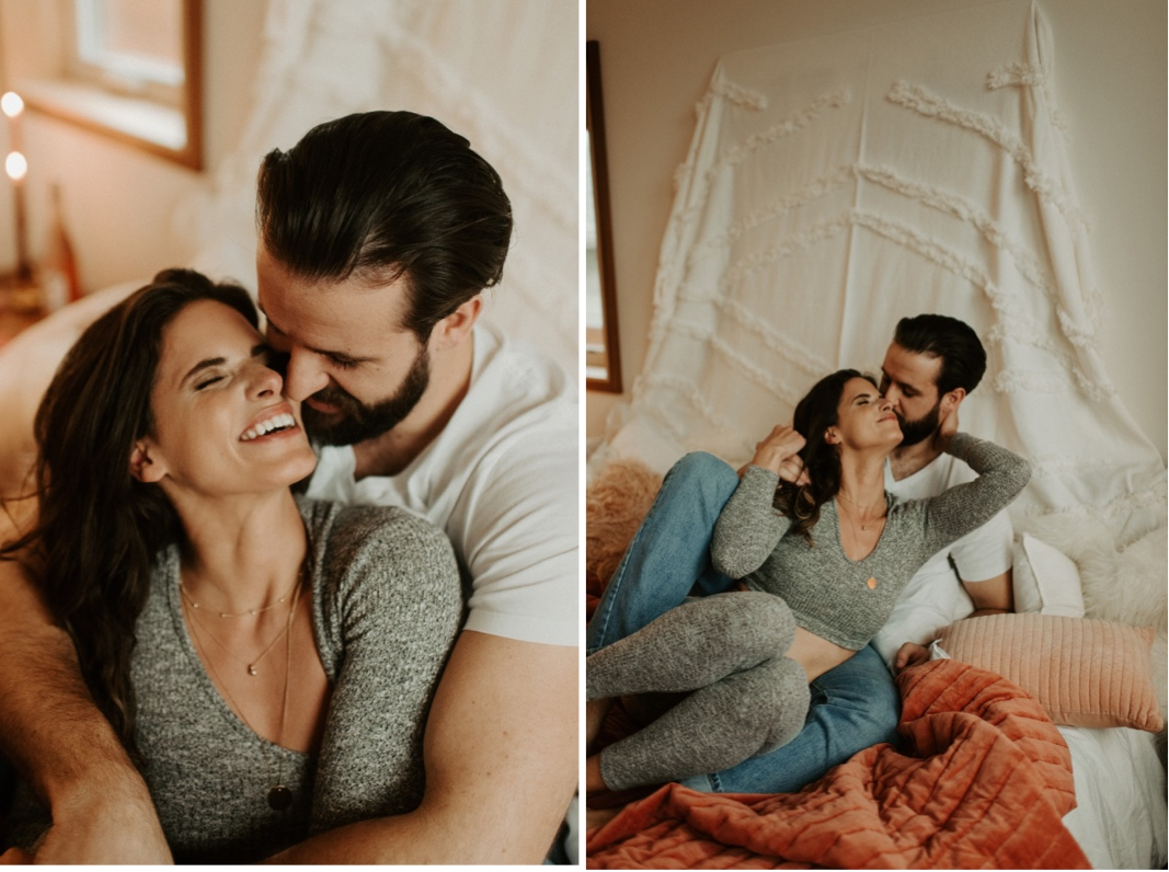 Cozy In-Home Lifestyle Anniversary Session | Oregon Wedding Photographer