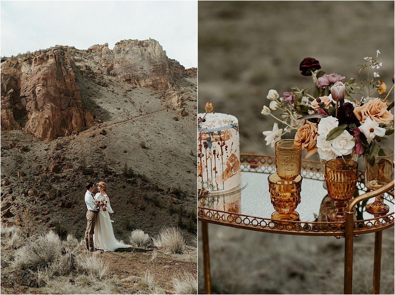 Smith Rock Elopement Inspiration | Oregon Wedding Photographer