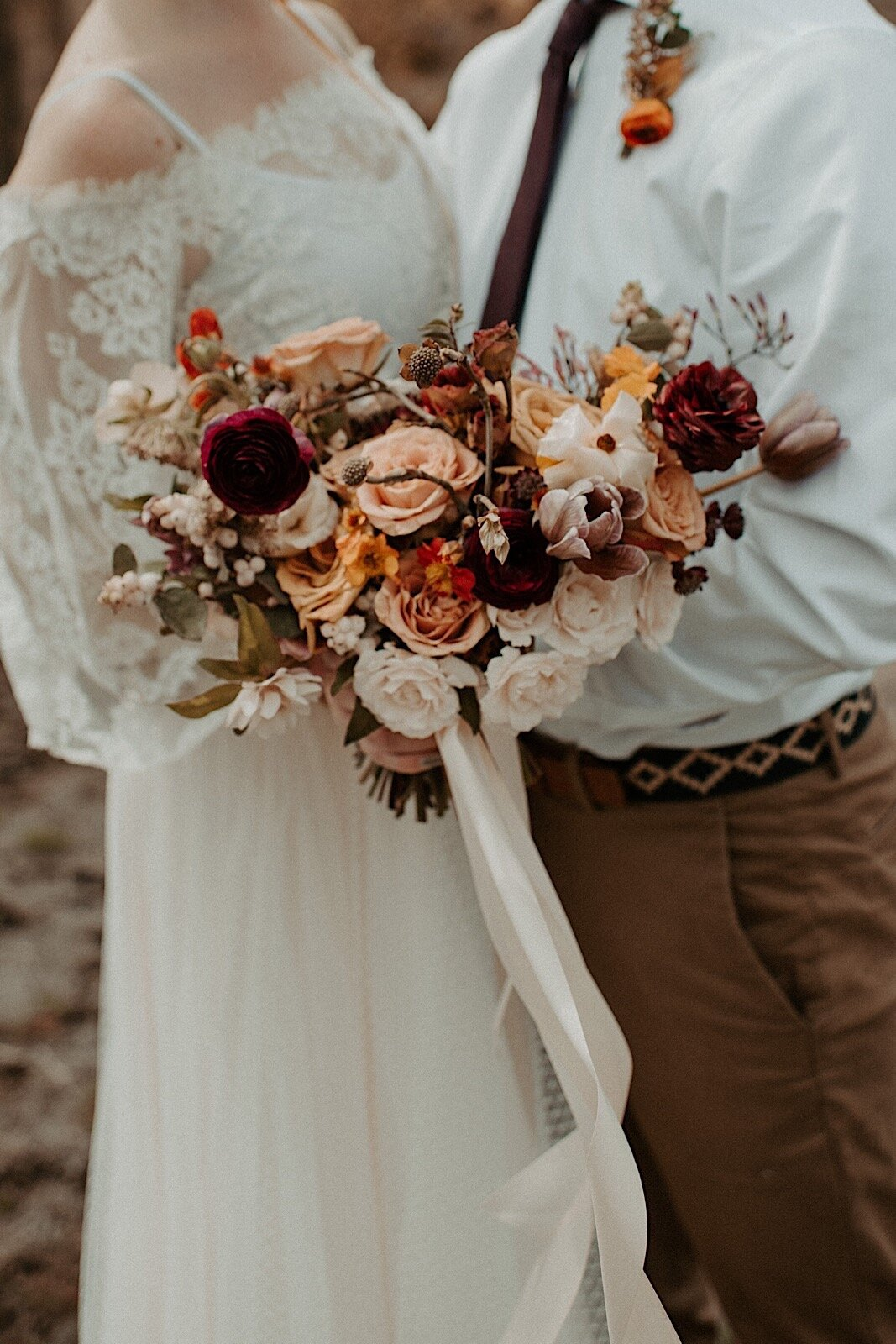 10 Free Spirited Bohemian Wedding Bouquets For Adventurous Brides Madeline Rose Photography Co