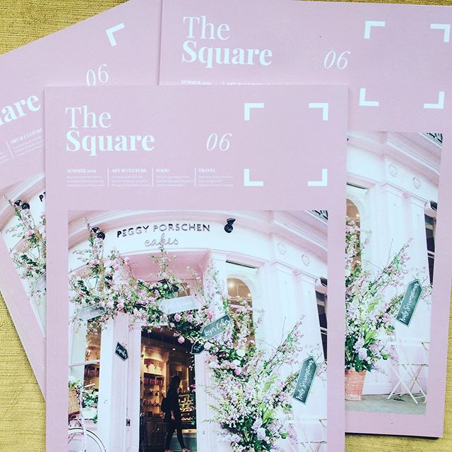 Meet my baby: Issue 6 of The Square is finally out and it's crammed full of fresh summer ideas. A personal travel writing hero of mine, Andrew Eames, takes a summer stroll through Chelsea Physic Garden with head of plant collections, Nell Jones, @thoughtscomments heads to Margate to meet the artisan foodies breathing new life into this quirky seaside town, Nigel Mendham of @dukeslondon shares his ultimate Scottch egg recipe and Lindsay Fulcher rounds up London's best art exhibitions. In collaboration with @dolphin_square Design by @huttonfarquhar and edited by me. Double tap to see more of the fantastic people featured . . . . . #london #goodreads #printporn #coffeetablemags #independentjournalism #londonlifestyle #foodandtravel #travelingram #travellove #londoncreatives #travelgb #humpday #londonrestaurants #lucurylifestyle #graphisdesign #writersofinstagram #graphicdesign #pimlico #londontraveltips #foodie #recipes #goodreads