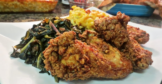 kitchenistadiaries.com  Incorporate this classic pairing of fried chicken wings and Mumbo Sauce in your Sunday dinner.