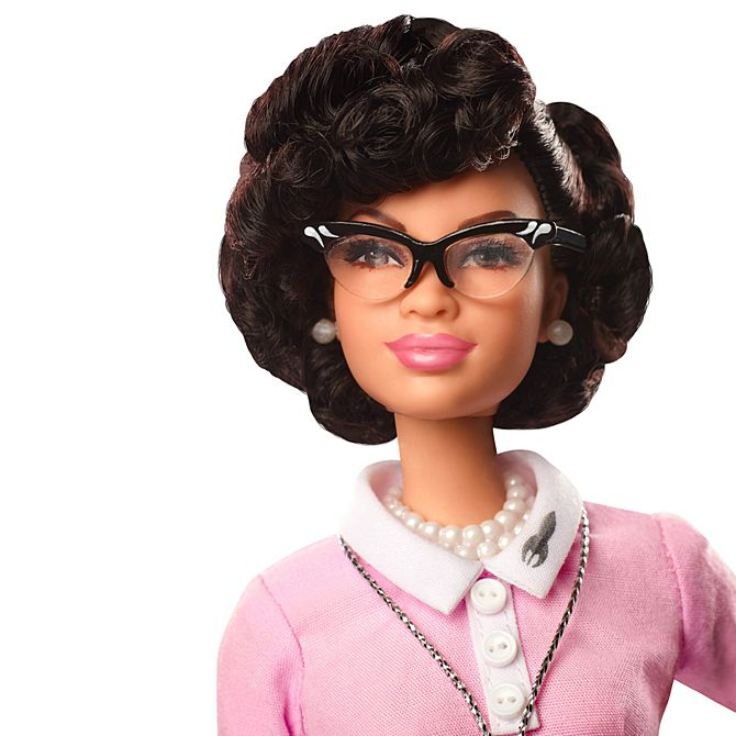 blackenterprise.com  Mattel is honoring Katherine Johnson and Britain's most successful female boxer, Nicola Adams—along with 15 other women with their own specially designed Barbie dolls.