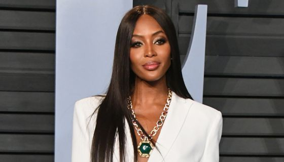 tvone.tv  After discussing the significance of having a black man and a black woman on the cover of British GQ in 2018, Campbell explained that at this point in her career, she doesn't book her gigs based on a need for fame. Instead, she chooses gigs that help black people.