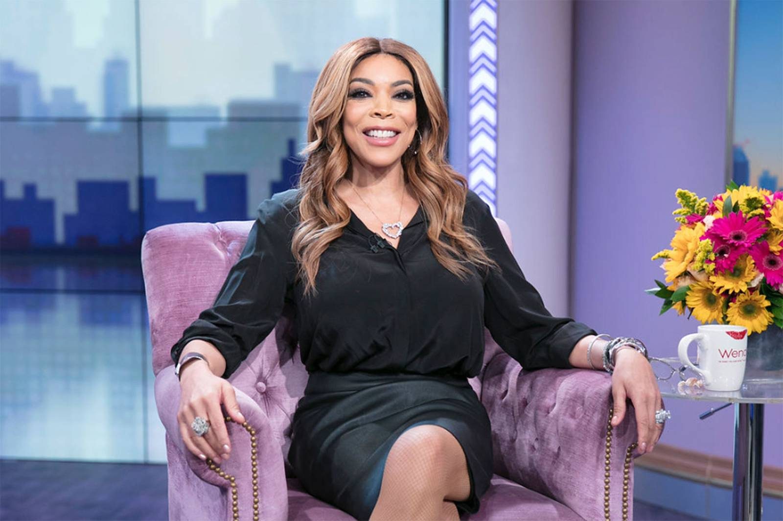 thejasminebrand.com  Wendy Williams has been on hiatus taking time off from work to treat her complications with Graves' disease and hyperthyroidism.Over the weekend, she posted a music video promoting her return.