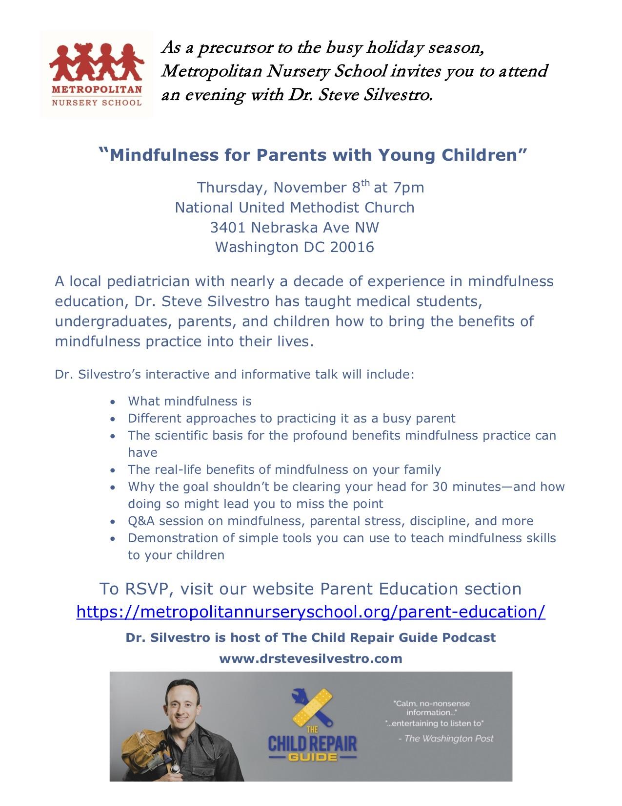 Mindfulness with Dr Steve Silvestro.jpg