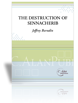 The Destruction of Sennacherib - Text by Lord ByronWritten for 7 percussionists & voiceClick here for purchase & more information