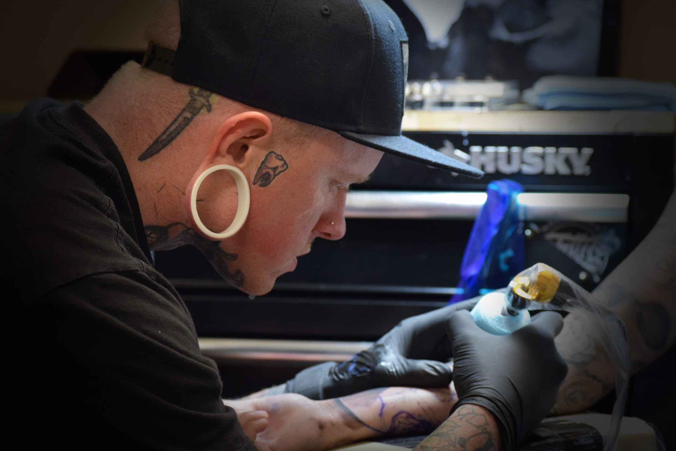 Dakota Case - Dakota is a Award winning artist specializing in color neo traditional, bold lines, and heavy saturation. Click on his photo to see his work!