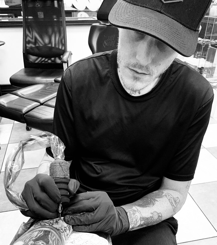 Ben Marcum - Ben has been tattooing for 10+ years as a realistic tattoo artist based out of West Palm Beach, Florida. Click his picture to check out his work.