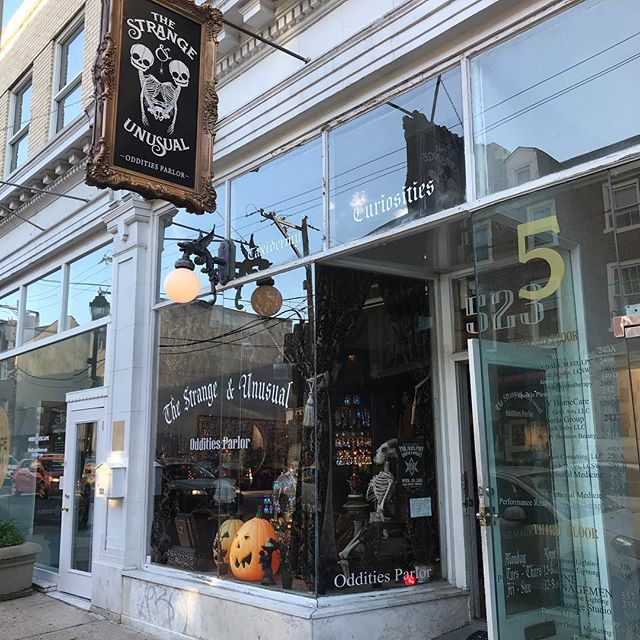 The Strange and Unusual Oddities Parlor, South Philly is a must #strange #strangeandunusual #gothlife #gothgoth #industrialculture