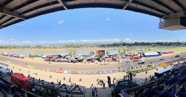 Sacramento Mile ready for American Flat Track action! #aft #flattrack #afttwins #aftsingles #sidewayslife #sacmile #sacramento