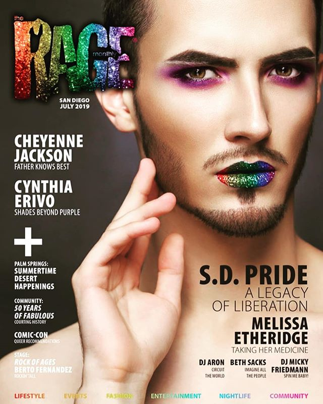 #Repost @theragemonthly  Thank you for the coverage, The Rage Monthly Magazine! We're excited to be screening in San Diego in less than a week! ✨👑✨ #50YearsOfFab #SanDiego #SanDiegoPride 🏳️‍🌈 @FilmOutSD @unitemusicfestival @SanDiegoPride #Pride #PrideMonth #50YearsOfFab ✨👑✨ #JoseSarria #Pride50 #Stonewall50 #Pride2019 #LGBTQ #LGBT #LGBTQHistory #LGBTHistory #Queer #QueerHistory #nyc #film #documentary #drag #causes #ImperialCouncil 🏳️‍🌈 *** It's here! Our San Diego PRIDE issue has hit the streets, so pick one up to check out our @sandiegopride preview including all the fun and festivities coming up this month, and interview with festival headliner Melissa Etheridge. Click link in our bio to view the digital edition of RAGE. Hope you enjoy.  #SanDiegoPride #MelissaEtheridge #alltherageinsandiego #lgbtqsandiego