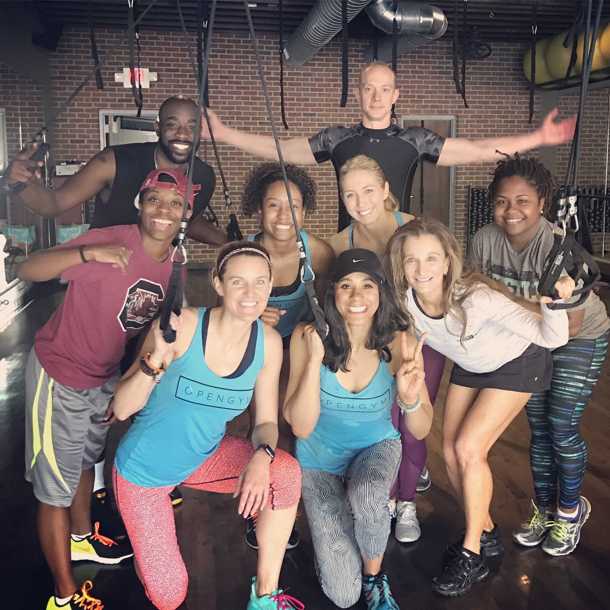 Open Gym Members