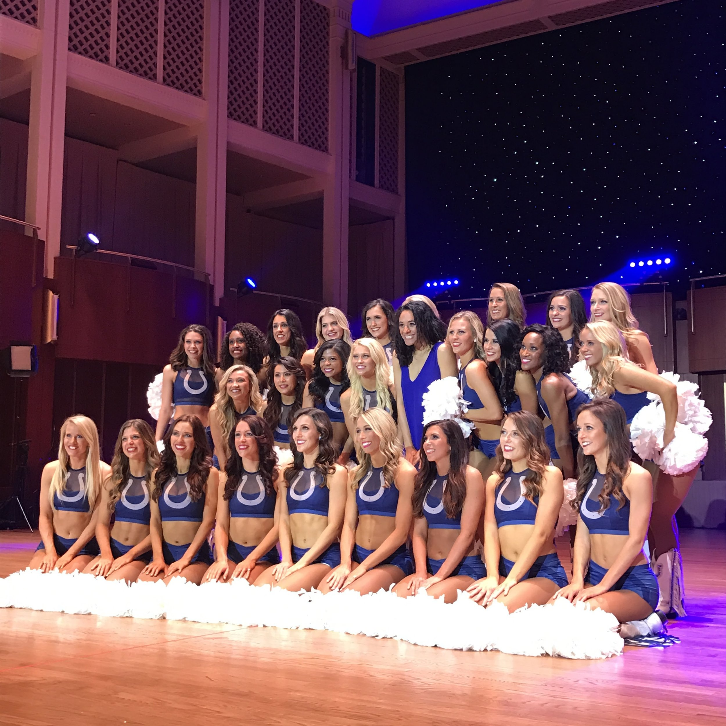 Open Gym Members-Indianapolis Colts Cheerleaders