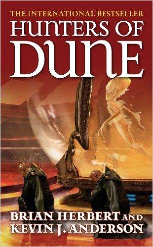 Hunters of Dune Brian Herbert Kevin J. Anderson cover
