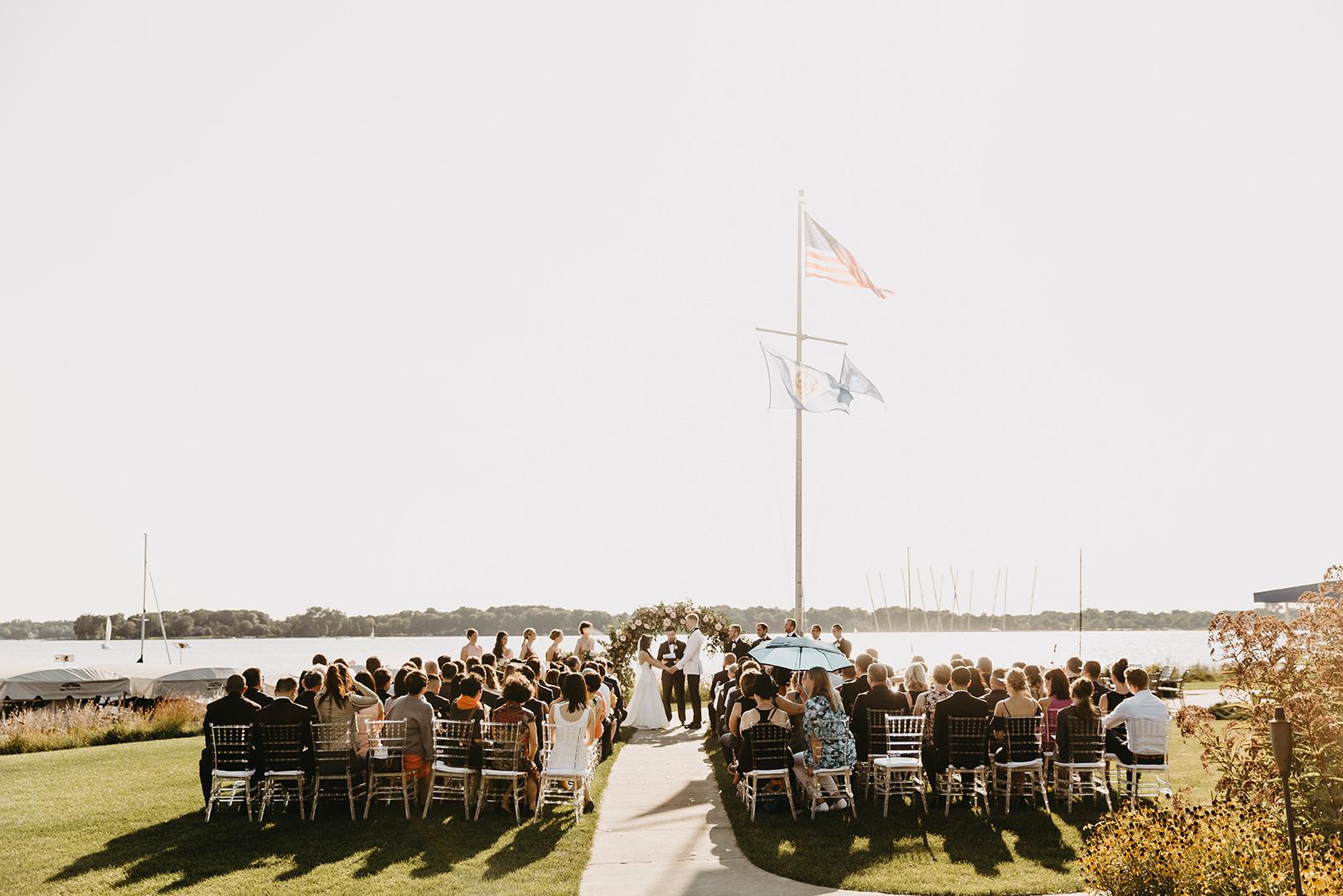 White Bear Yacht Club Wedding