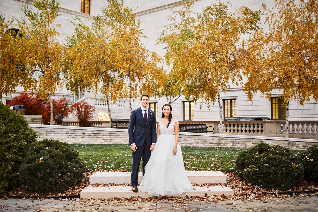 James J Hill Library Wedding