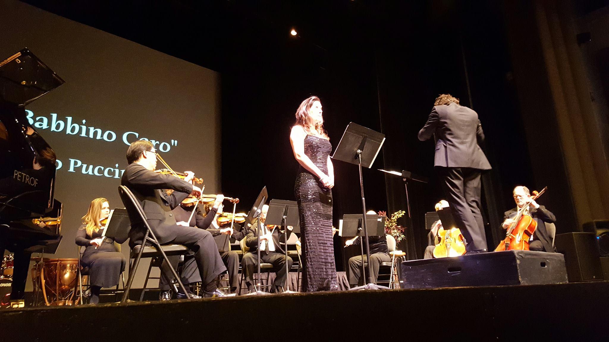 Soloist, Symphony Paradiso,  Festival Place with Conductor Emilio De Mercato