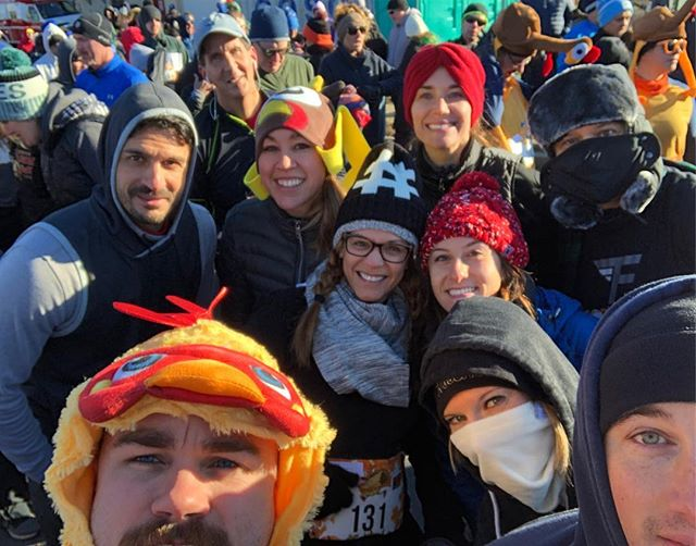 Happy Thanksgiving! Thank you to all the turkeys, I mean members, that came out for the Turkey Trot 5k Run! It was a cold one🐔❄️