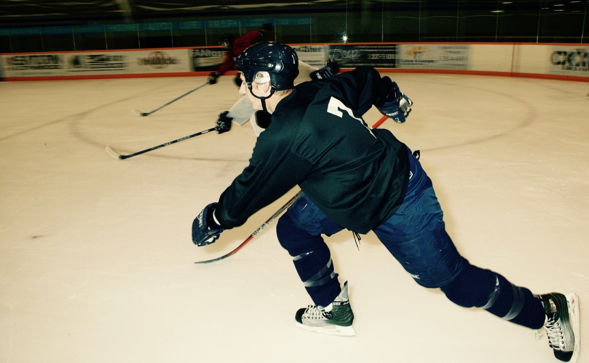 Technique Training For Hockey Players
