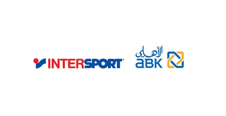Intersport logo and ABK logo