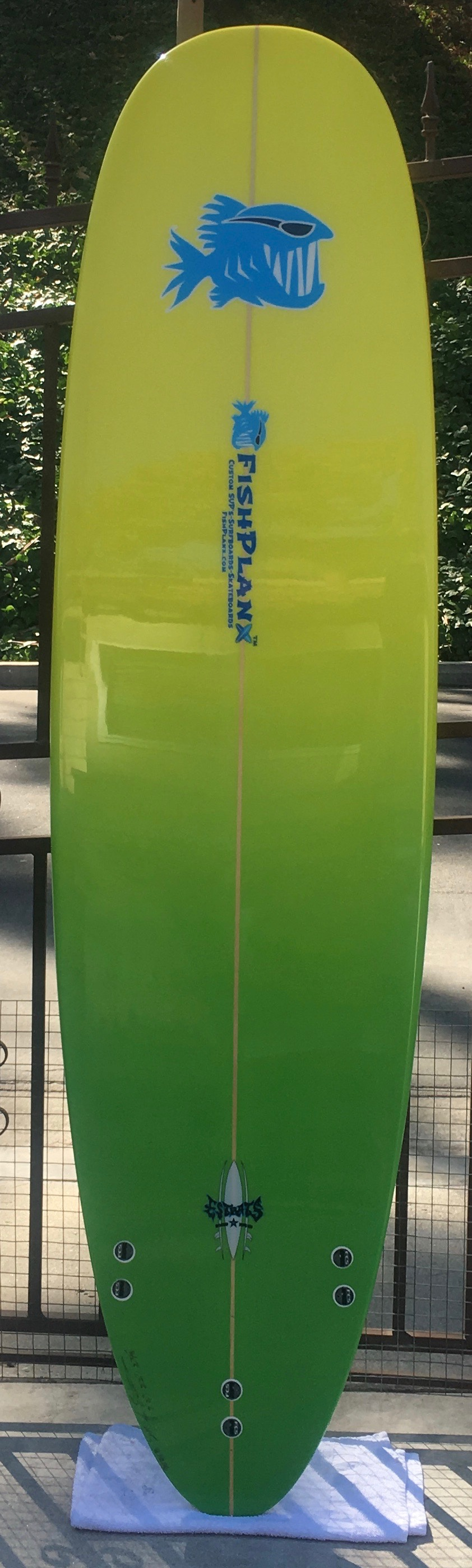 """Tortuga Round Tail Mini Log - The Turtle is anything but slow and this board was made for fun and catching waves! From 7'0"""" to 7'8"""" in size. Color can be custom as well."""