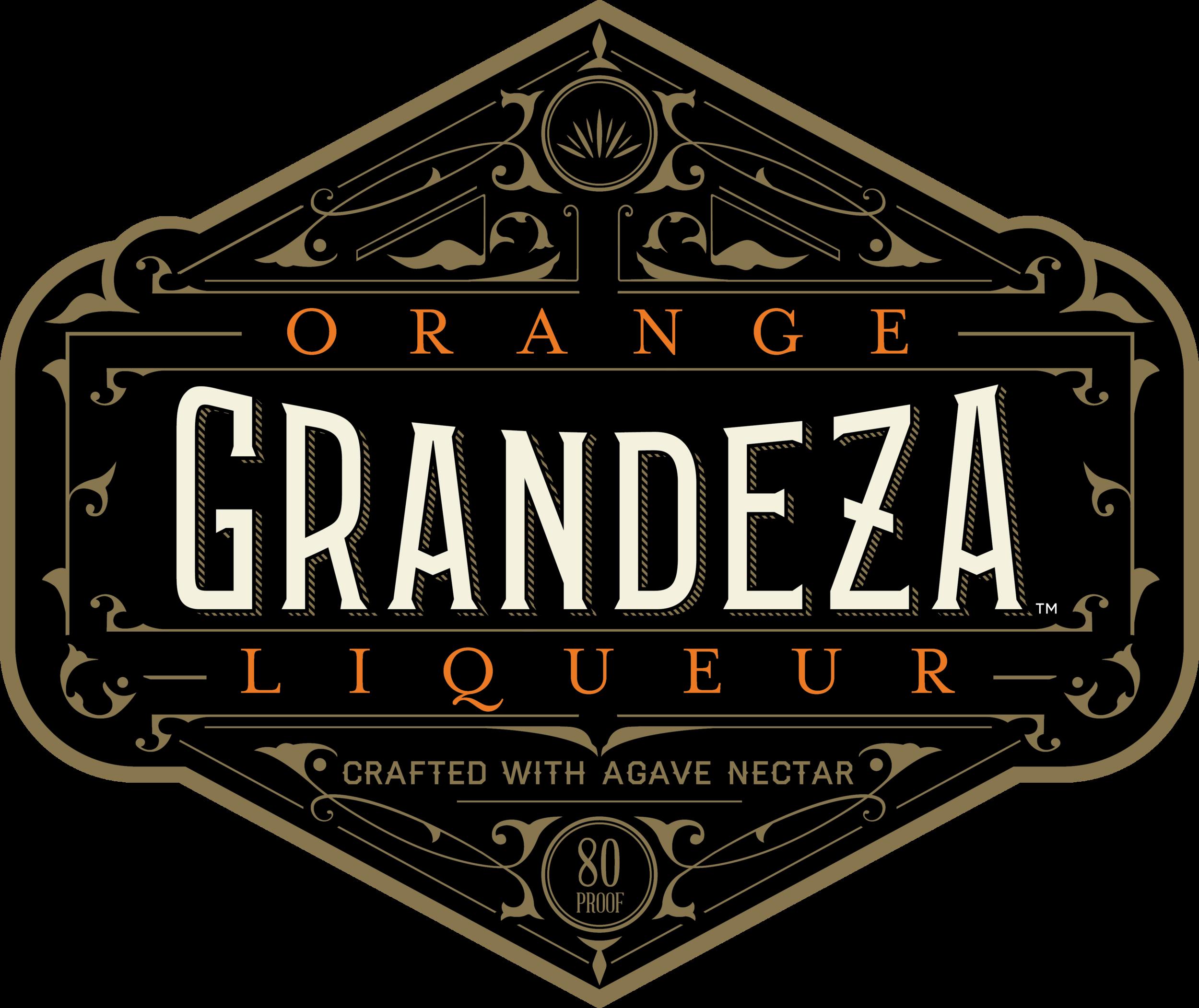 Grandeza for swag Black - Orange Letters.png
