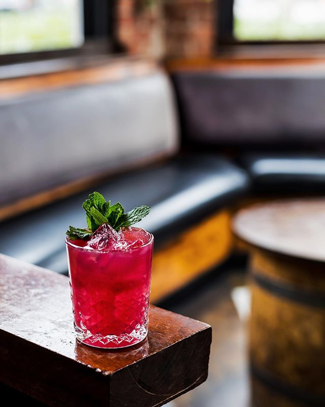 Flor De Frida 🌺 Margarita ——————— Hibiscus infused blanco tequila, Grandeza, Fresh Lime Juice, Fresh Lemon Juice, Agave Nectar