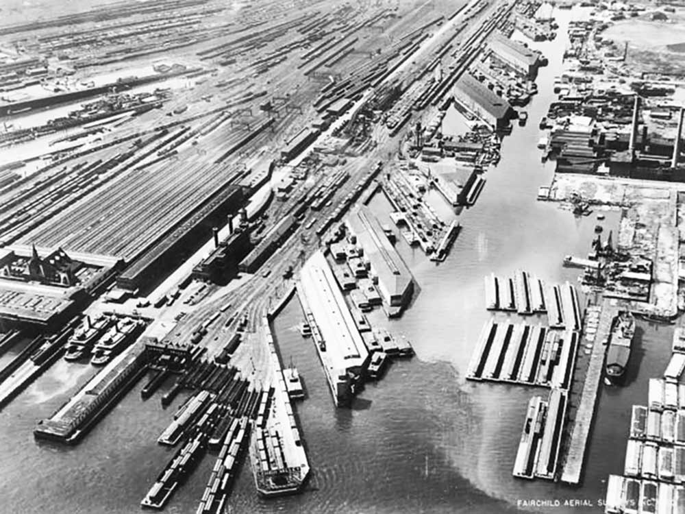 Docks of New Jersey and San Diego