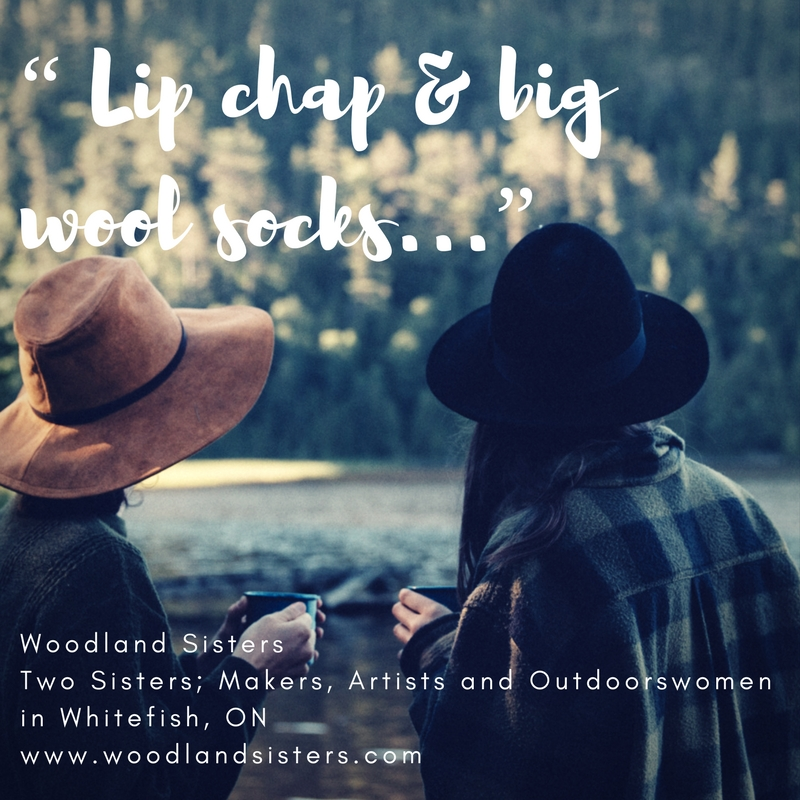 """Lipchap & big wool socks..."""