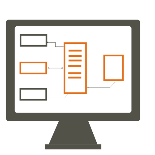 Diagram Example on Computer