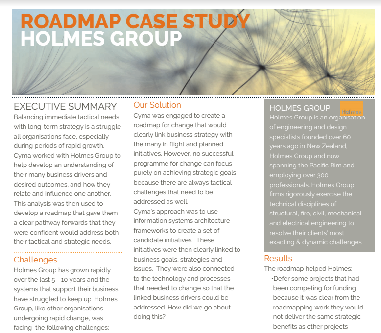 Holmes Group Case Study