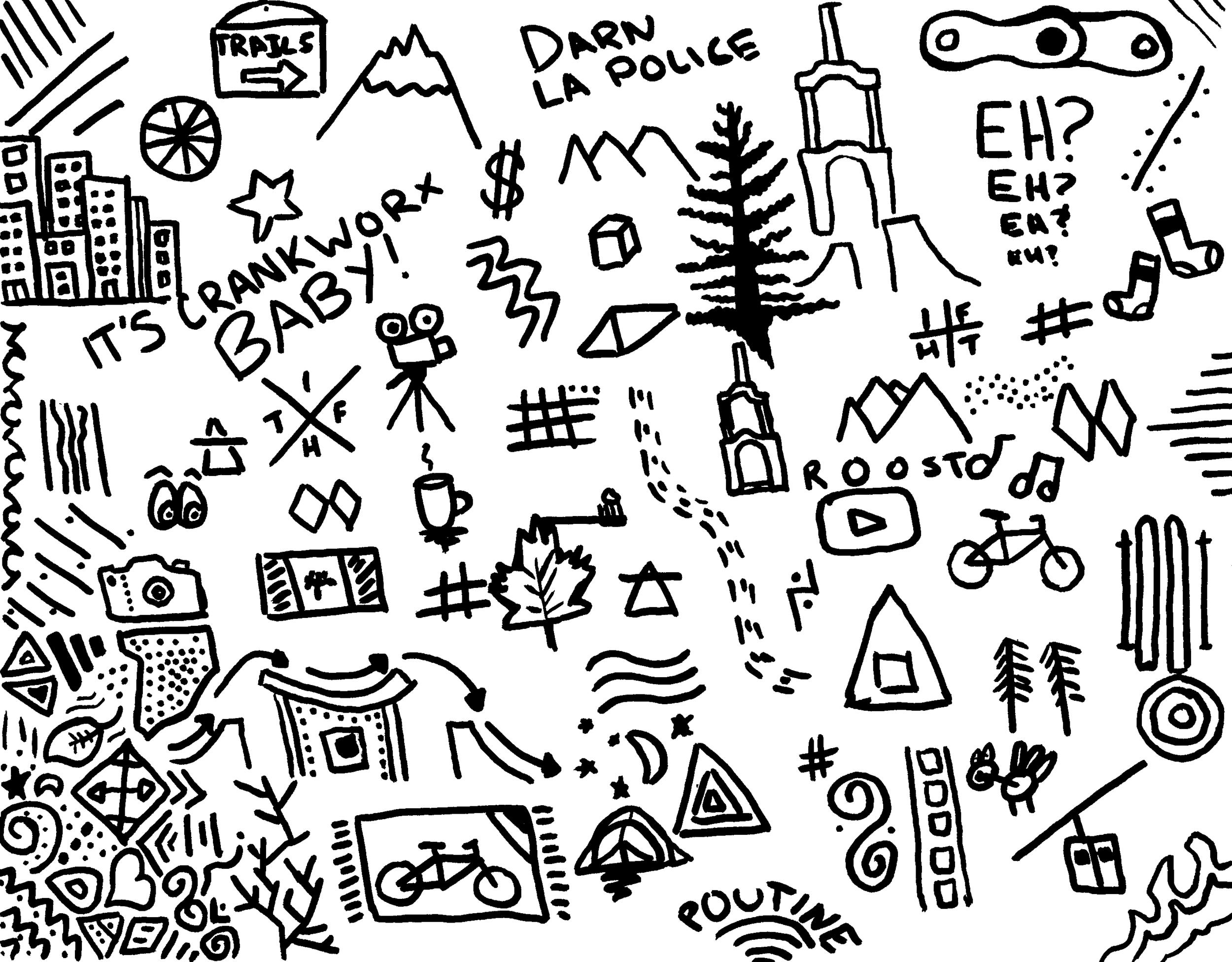 Jason Lucas'doodles.