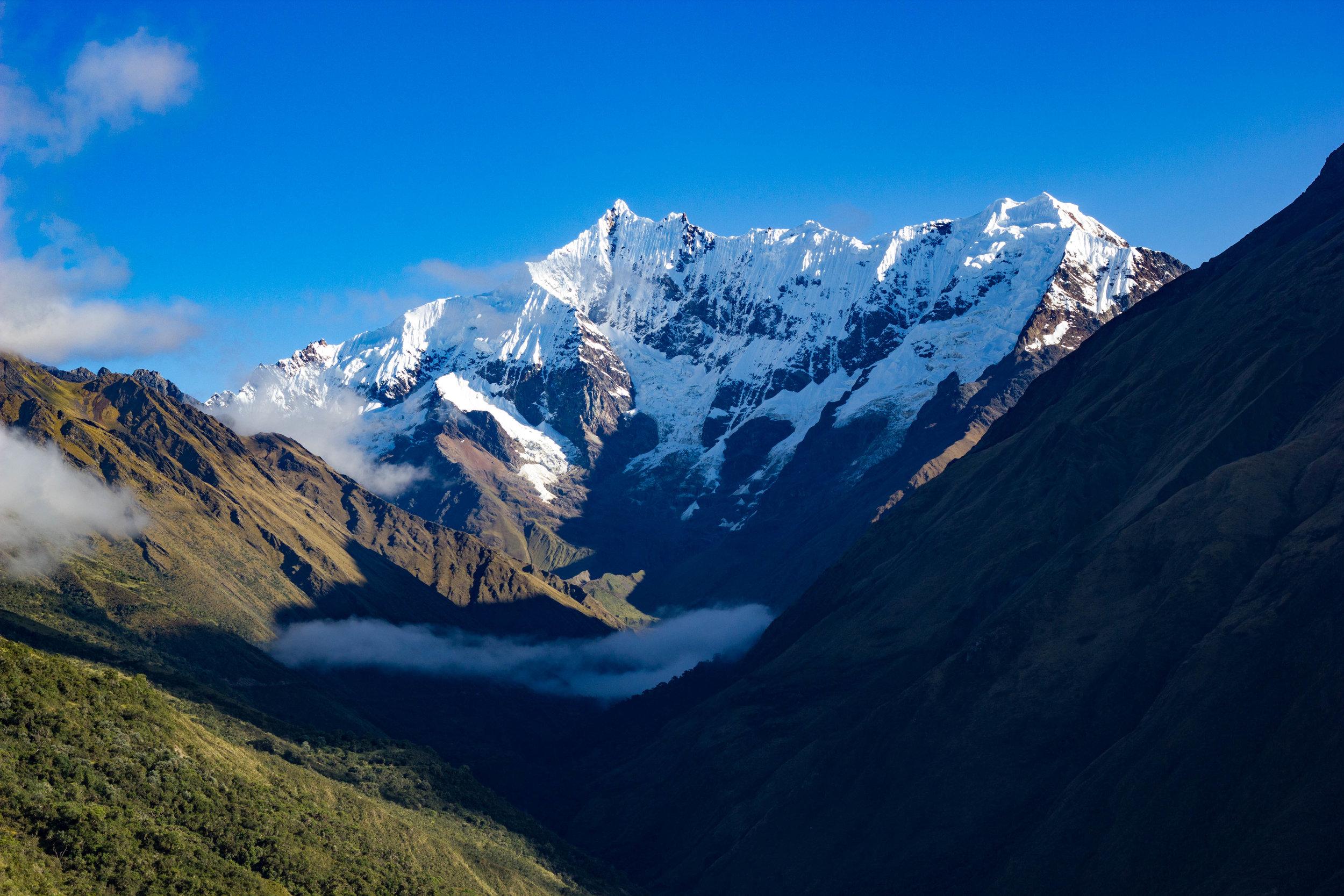 Abril en Peru - Distrito de Mollepata, Mount Salkantay, Machu Picchu